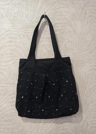 Джинсовая сумка adidas2 фото