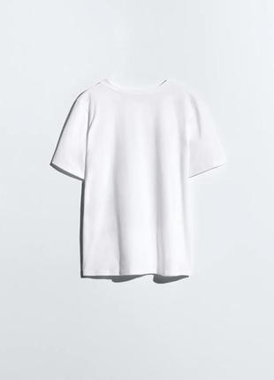 Белая футболка с принтом дисней микки маус zara оригинал футболочка топ зара4 фото