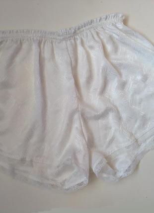 10-12 стильные атласные пижамные шортики короткие шорты для сна и дома
