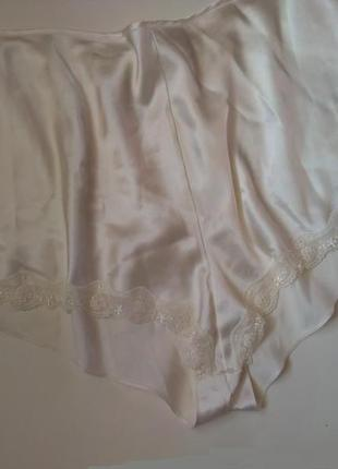 20-22 m&s роскошные сатиновые пижамные шортики с изумительной вышивкой для сна и дома
