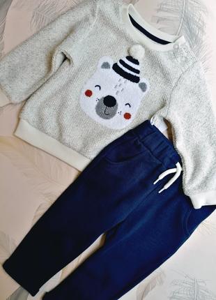 Тепленький набор костюм на мальчика