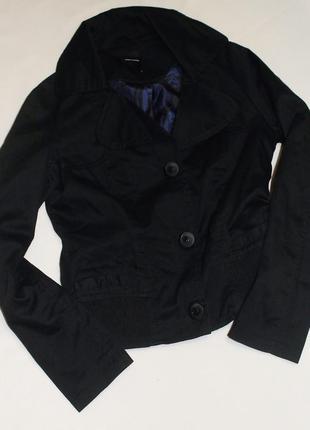 Vero moda чёрная куртка ветровка