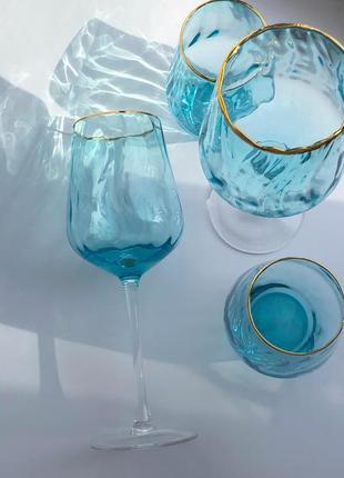 Набір посуду «blue wave»