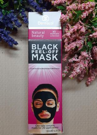 Черная маска для лица против угрей и черных точек
