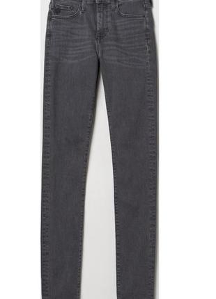Серые прямые джинсы зара zara 31 размер