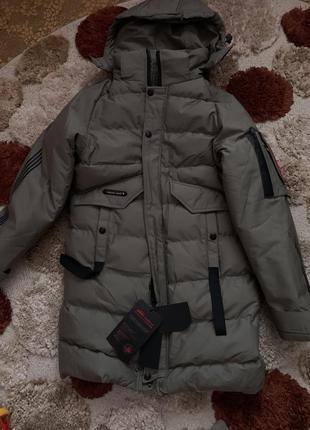 Акция🎁 пуховик мужской, куртка зимняя мужская, тёплая мужская зимняя куртка