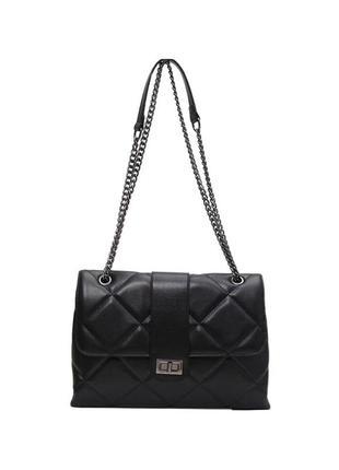 Шикарная вместительная женская сумка с эко-кожи
