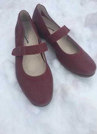 Туфельки мягкие на низком ходу