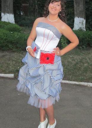 Выпускное платье от оксаны мухи
