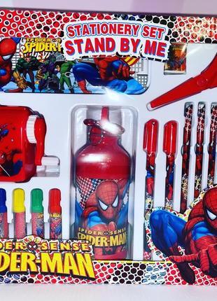 Детский подарочный набор «spider man»