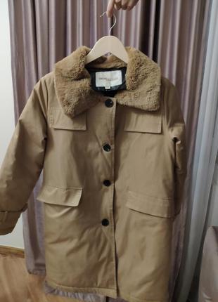 Куртка-тренч утеплений