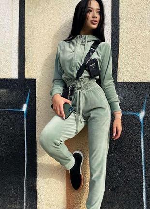 Спортивный костюм женский демисезон джоггеры худи на молнии