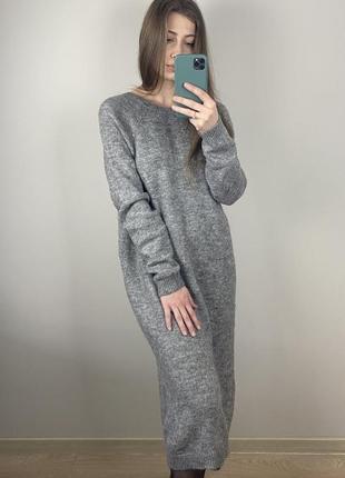 Платье h&m /вязка длинное