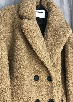 Шубка пальто zara
