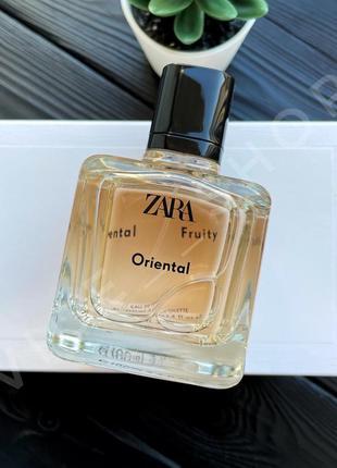 Zara oriental духи парфюмерия туалетная вода оригинал испания
