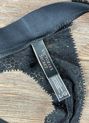Набор женских трусов victoria's secret model розовые / бежевые / черные подарок на 8 марта5 фото