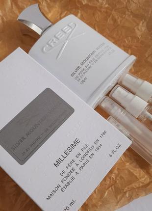 Отливант распив ⚜creed⚜ silver mountain water⚜крид парфюмерная вода унисекс1 фото