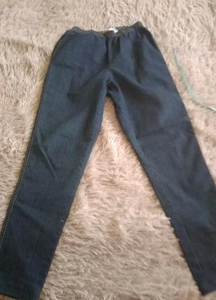 Лосины джинсовые.