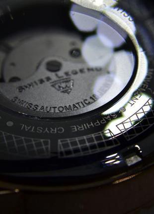 Шара ! швейцарские часы механические с автоподзаводом swiss legend. diamonds7 фото