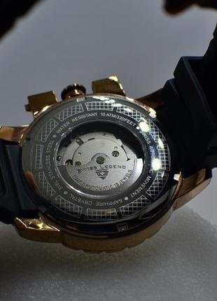 Шара ! швейцарские часы механические с автоподзаводом swiss legend. diamonds4 фото