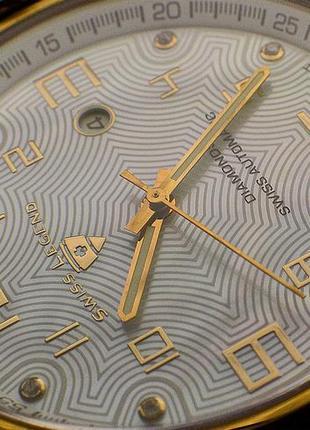Шара ! швейцарские часы механические с автоподзаводом swiss legend. diamonds1 фото