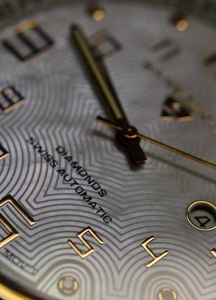 Шара ! швейцарские часы механические с автоподзаводом swiss legend. diamonds5 фото