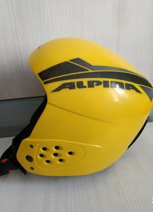 Детский лыжный шлем alpina