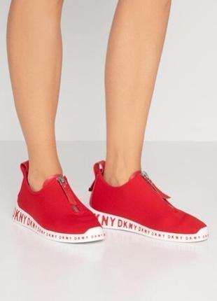 Кроссовки женские кроссовки dkny melissa zip logo sneakers