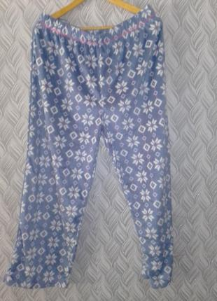 Штаны теплые для дома для сна большой размер