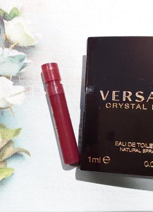 Пробник versace crystal noir