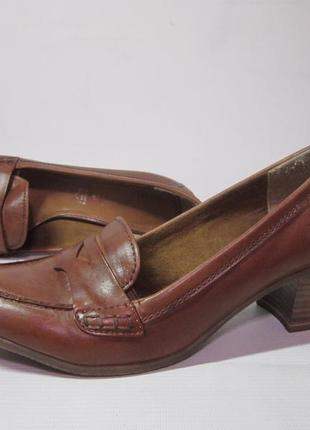 Туфлі tamaris германія,кожа р.39, стелька 25.5см