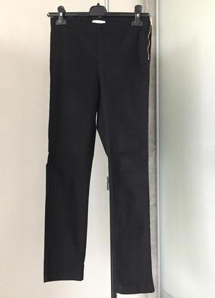Базовые прямые брюки завышенная посадка