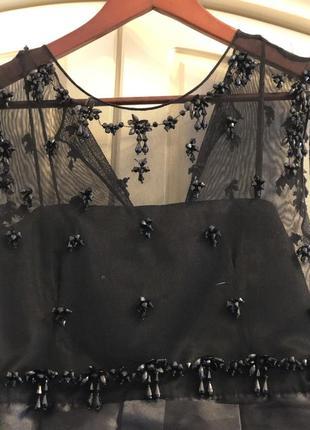 Платье чёрное стильное для особых событий