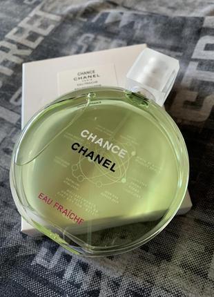 Chanel chance eau fraiche tester 100 ml.