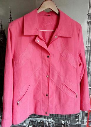 Finesse, ніжно рожева куртка, вітровка, півплащик