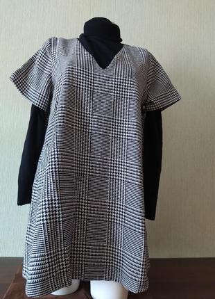 Платье-сарафан с коротким рукавом zara