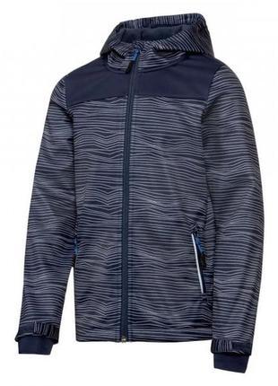 Softshell термо куртка ветровка crivit 134/140 ian328623