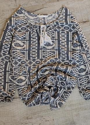 Нарядная натуральная блузка фирмы only  размер s-m  цена 199 грн 0665677053