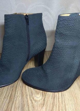 Шикарные ботинки, ботильоны. натуральная кожа. р.38