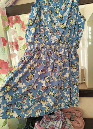Платье,сарафан с бабочками
