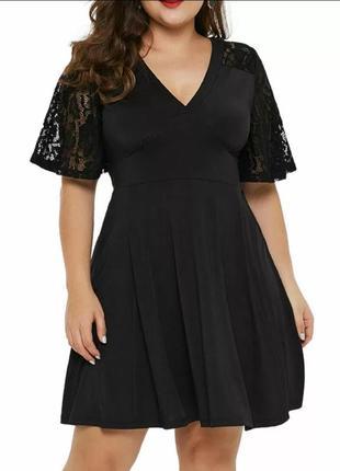 Платье большого размера