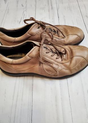 Кожаные туфли ecco 46р