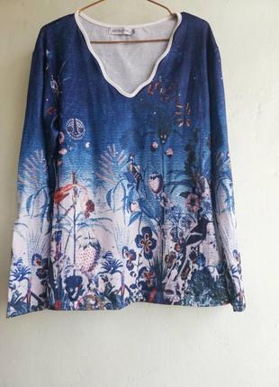 Красивый джемпер кофта лонгслив свитер ,размер м, miss look