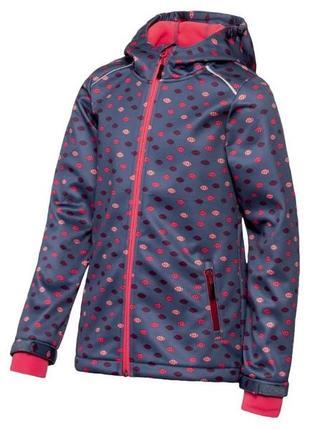Softshell термо куртка ветровка crivit 146/152 см, софтшелл