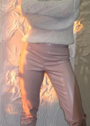 Штаны из эко кожи.1 фото