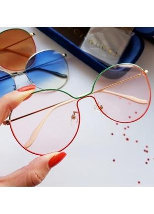 Градиентные имиджевые очки
