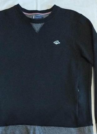 Теплый мужской свитер толстовка