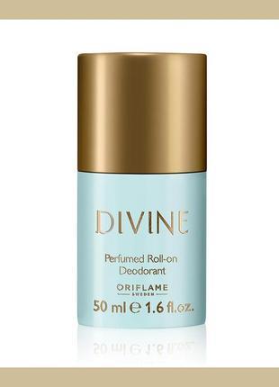 Парфумований дезодорант divine [дівайн] oriflame оріфлейм орифлейм 32493 шариковый 50 мл