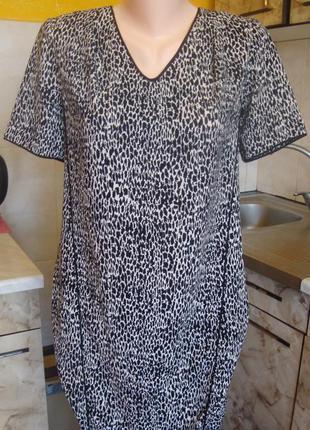 Платье черно-белое betty jackson black румуния размер 8/36 xs/s