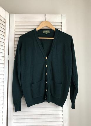 Шерстяной кардиган шерсть шерстяний кардиган кофта светр